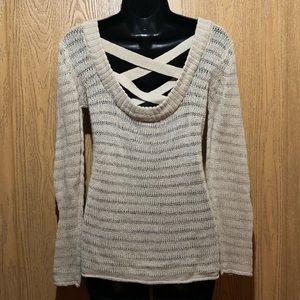 Strappy Back Sweater